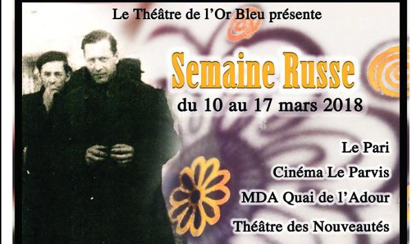 Théâtre de l'Or Bleu semaine russe sur De scène en scène