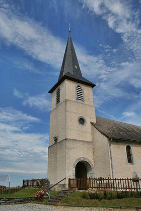 Eglise d'Uzer sur de scène en scène