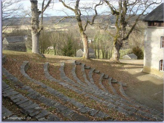 Théatre de verdure Mont Arès sur de scène en scène