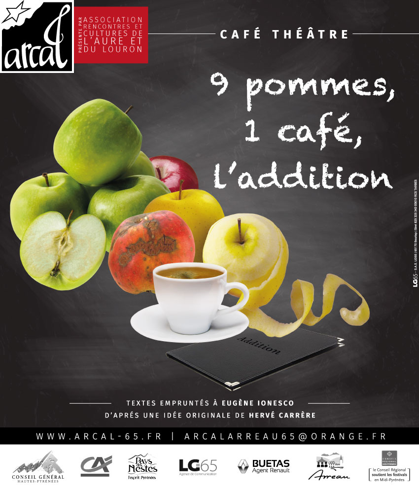 9 pommes, 1 café, l'addition !