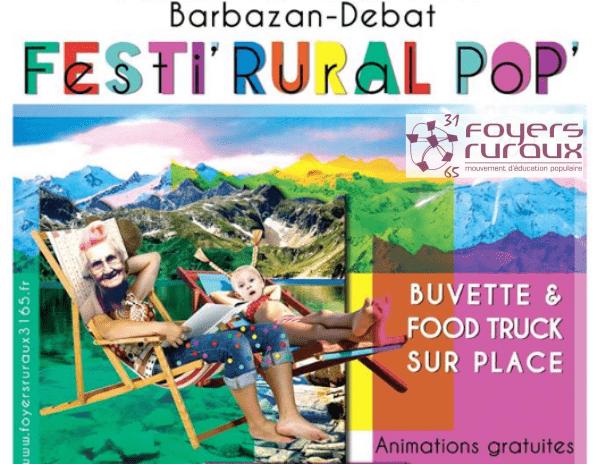 Festi' Rural Pop' sur De scène en scène