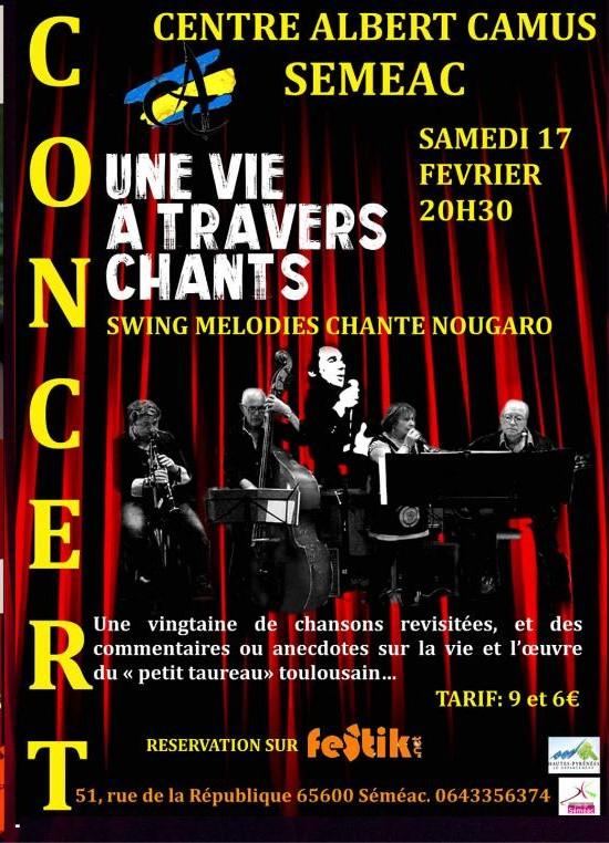 Concert en hommage à Claude Nougaro