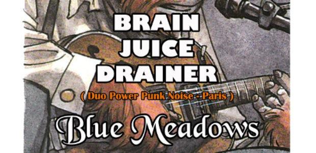 Brain Juice Drainer et Blue Meadows sur De scène en scène