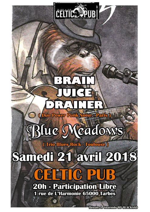 Brain Juice Drainer et Blue Meadows