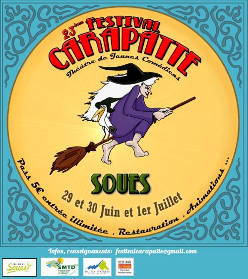 23ème Festival Carapatte