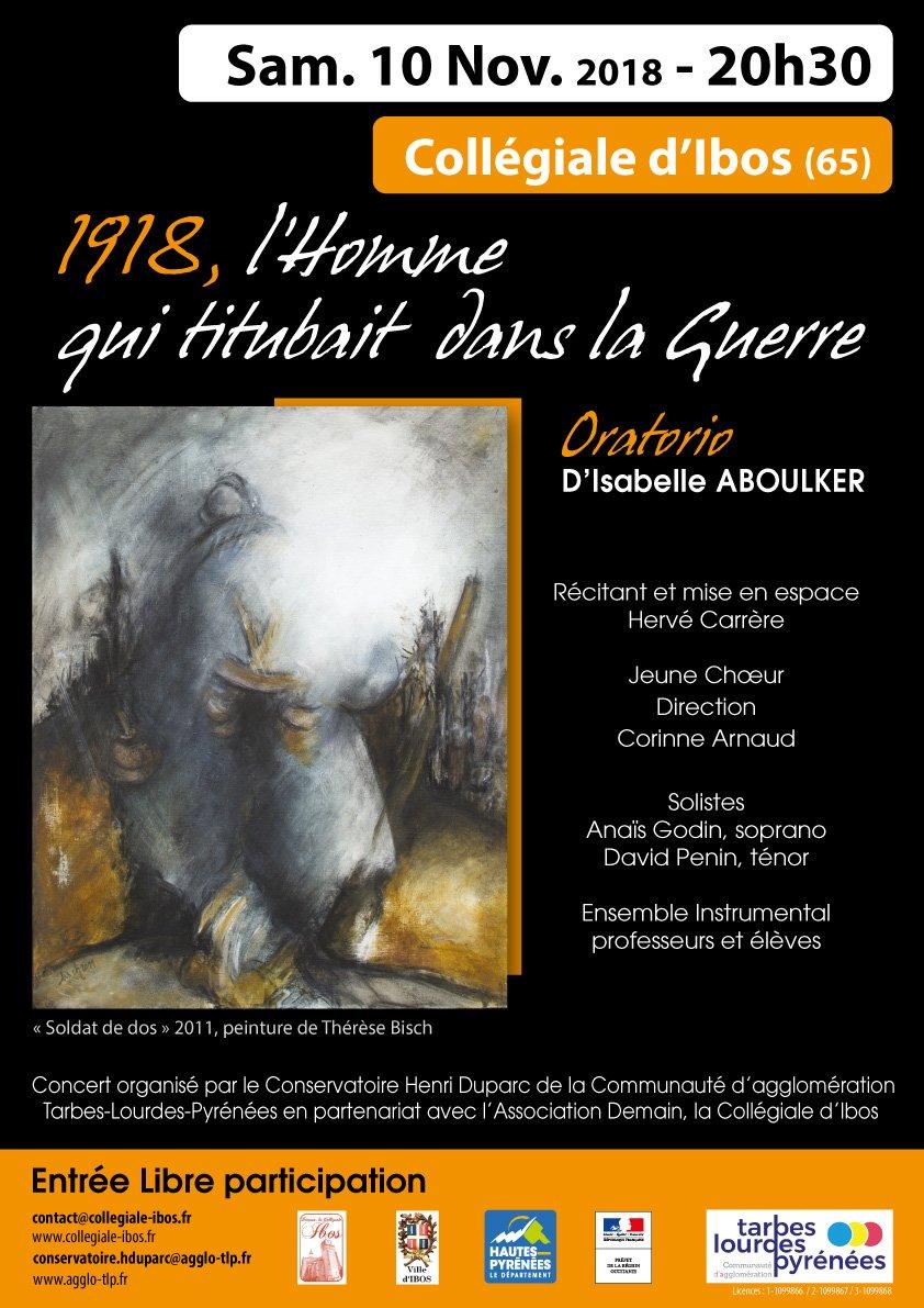 """""""1918, l'Homme qui titubait dans la Guerre"""""""
