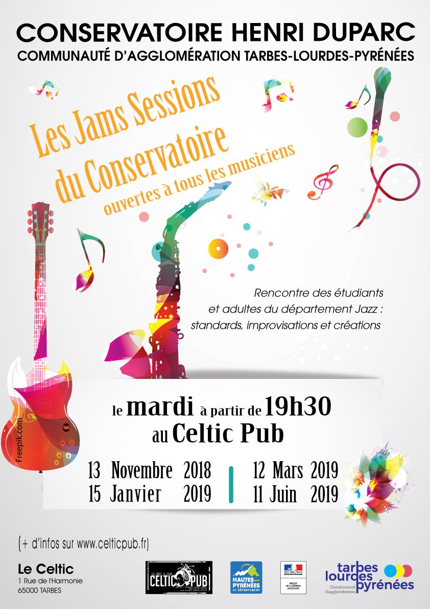 Jam session du Conservatoire, la dernière de la saison