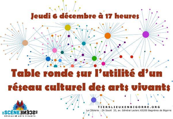 Table ronde sur l'utilité d'un réseau culturel des arts vivants