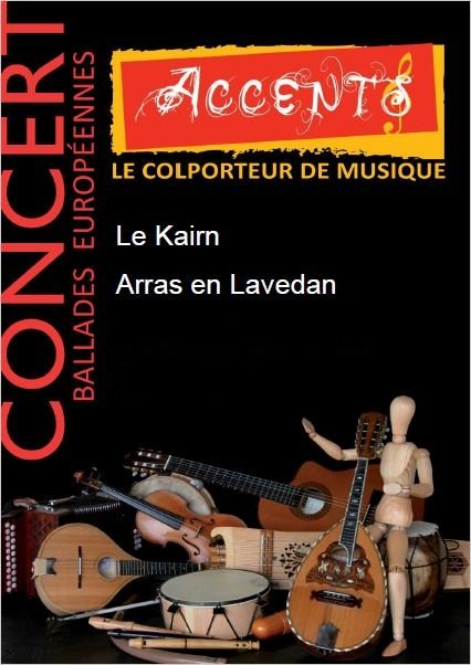 Accents en concert, au Kairn