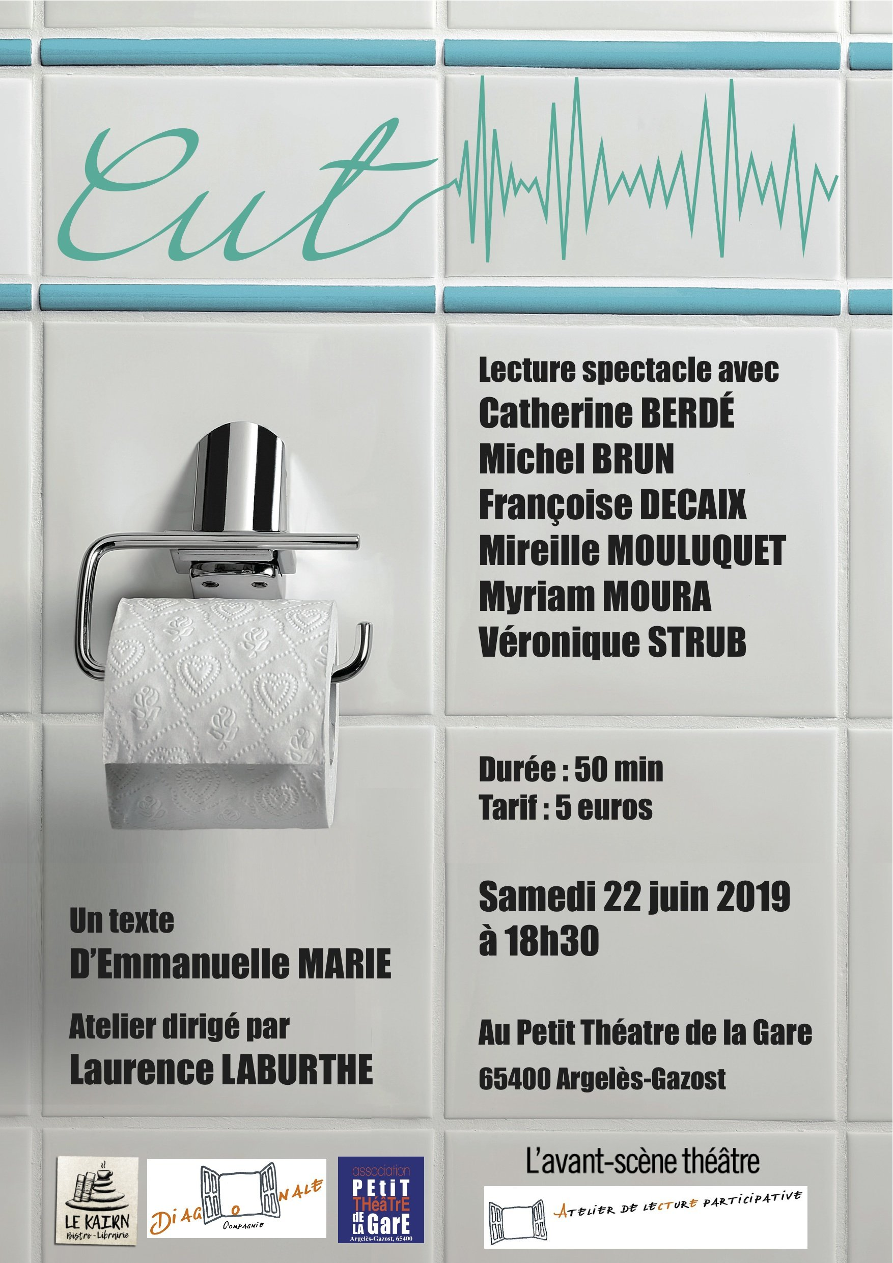 "Lecture spectacle ""Cut"""