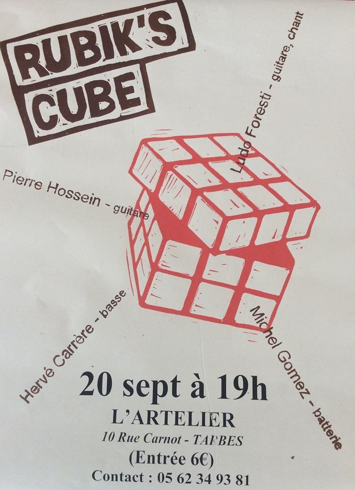 Concert Rubik's cube