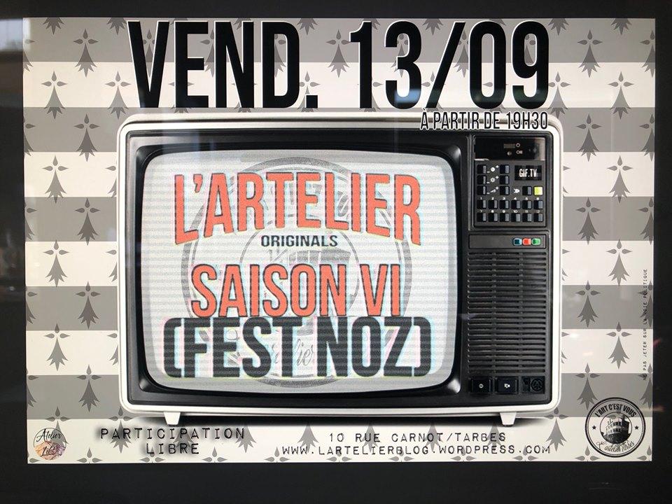 Nuit de l'Artelier Fest Noz