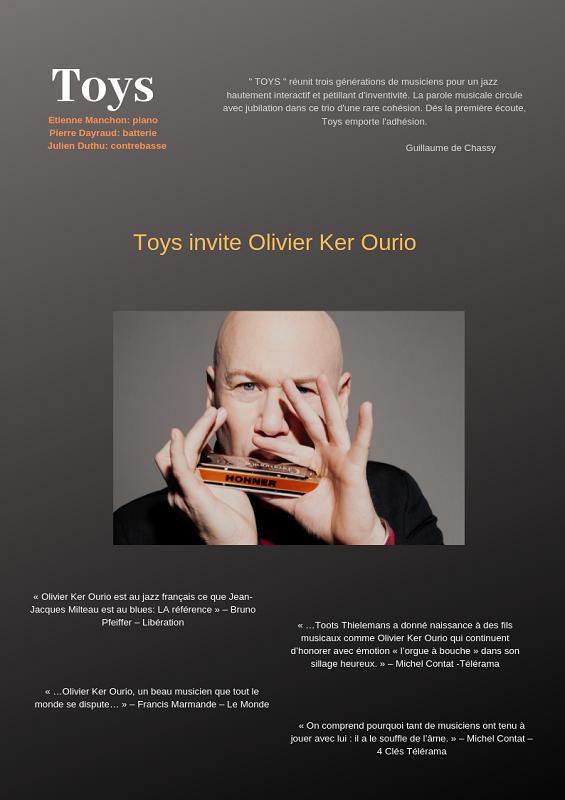 Jazz TOYS invite Olivier KER OURIO