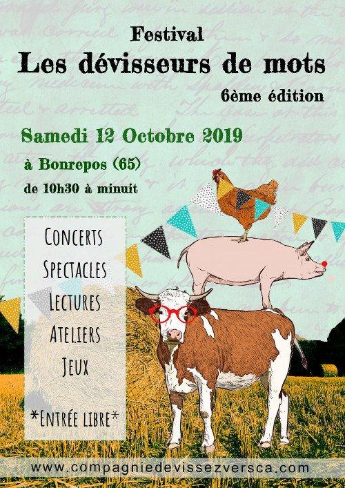 Festival Les Dévisseurs de Mots