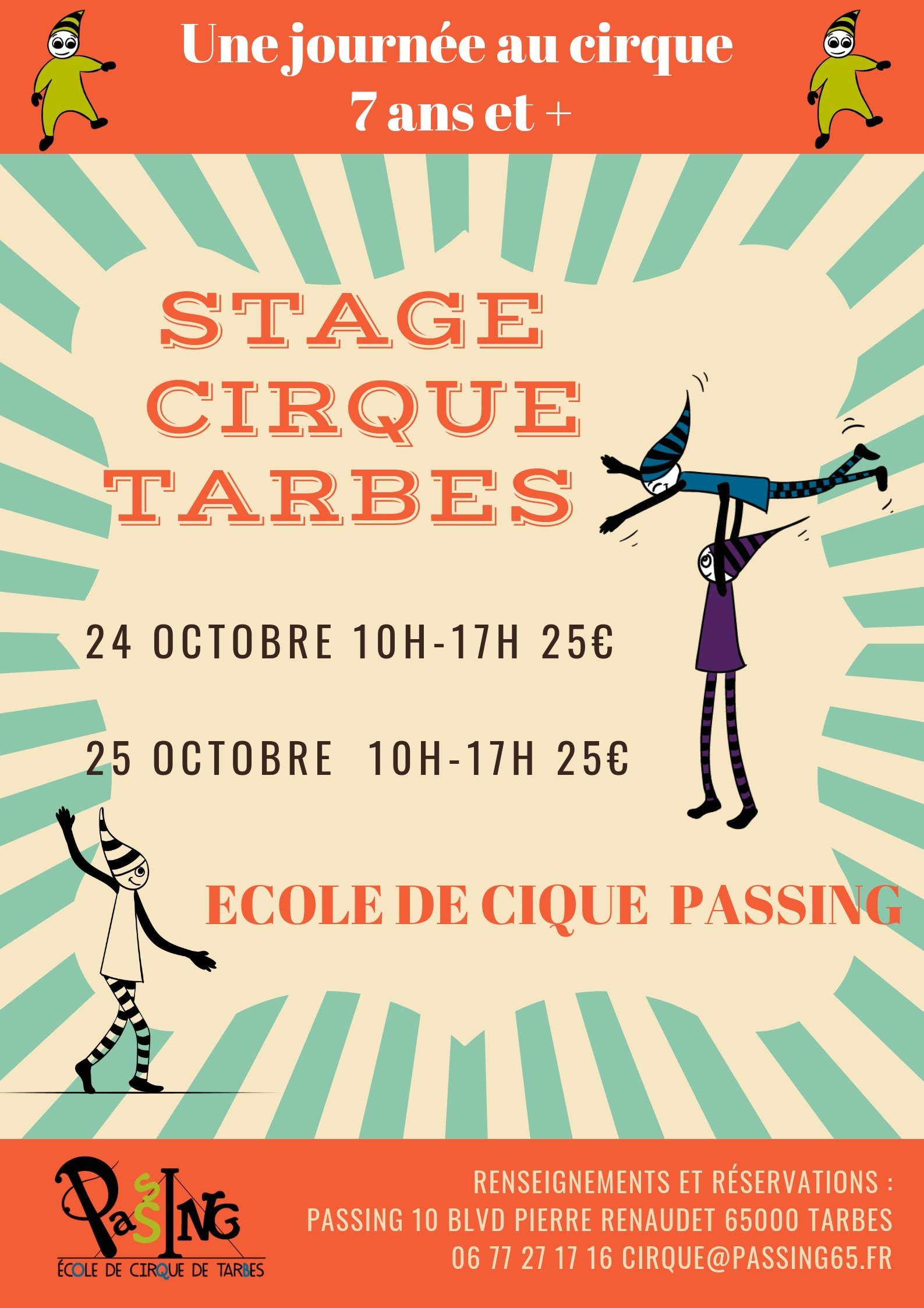 STAGES CIRQUE