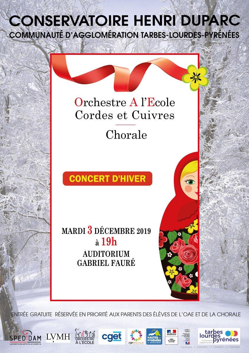 Concert des Orchestres à l'école
