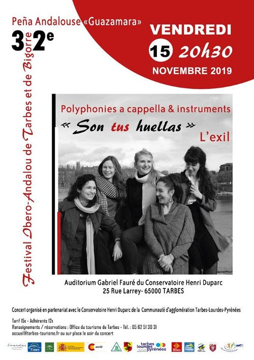 "Concert Polyphonies ""Son tus huellas"""