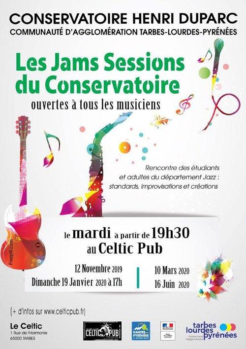 Les Jams Sessions du Conservatoire