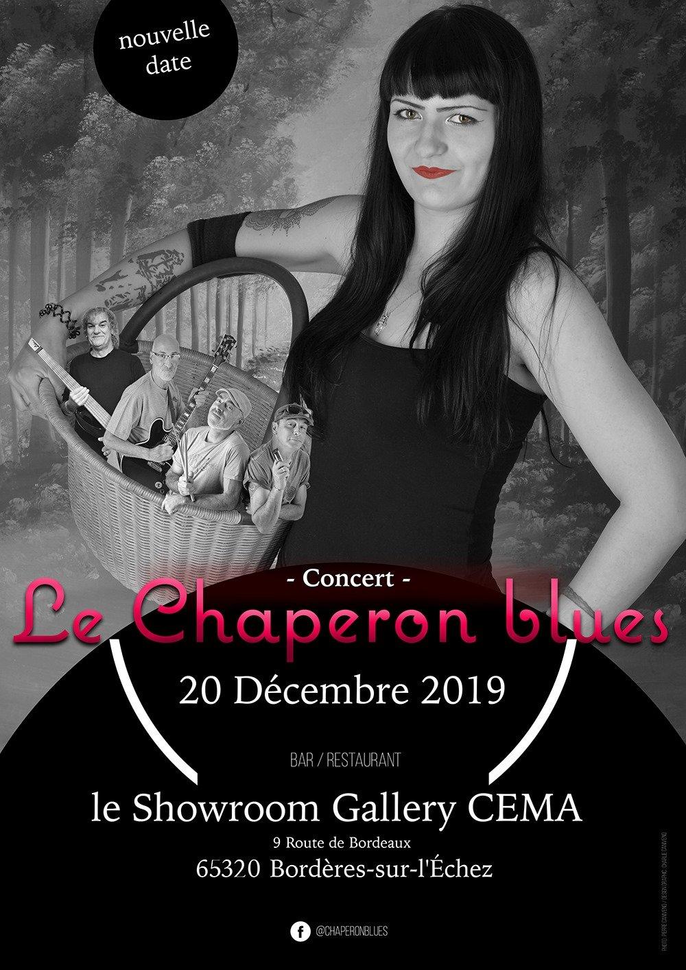 Concert Le Chaperon Blues
