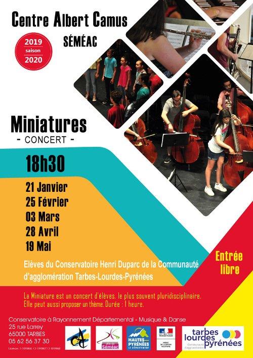 Les miniatures du Conservatoire