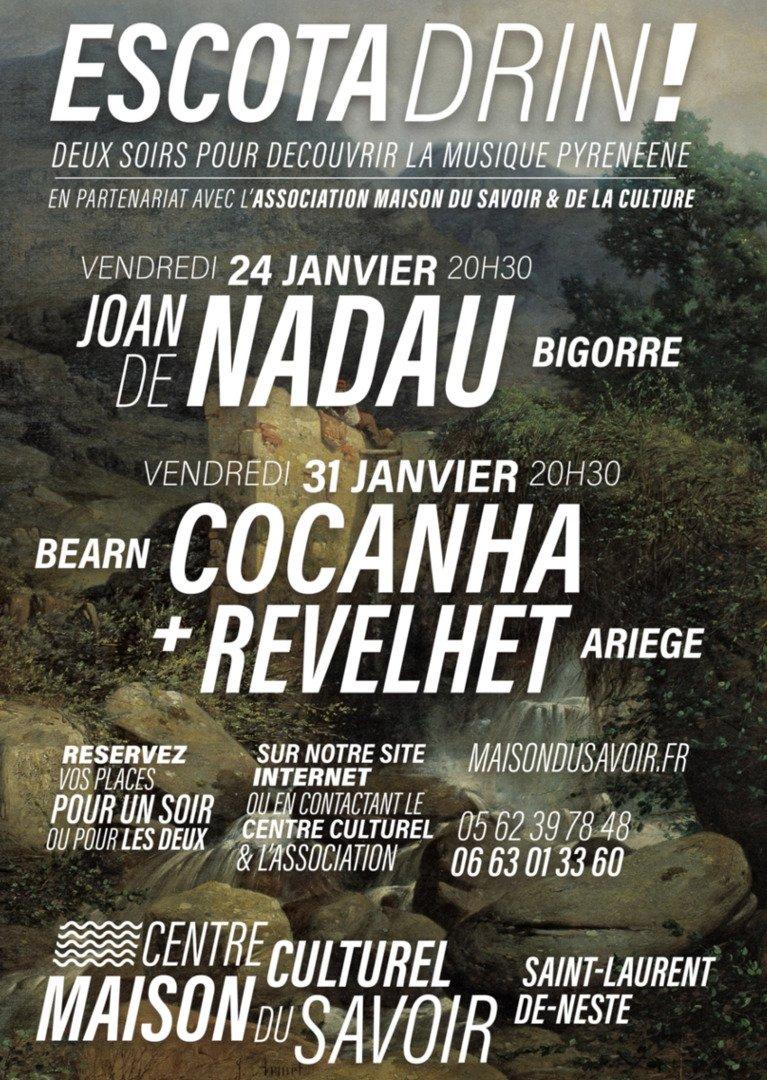 ESCOTA DRIN | Nadau + Cocanha + Revelhet