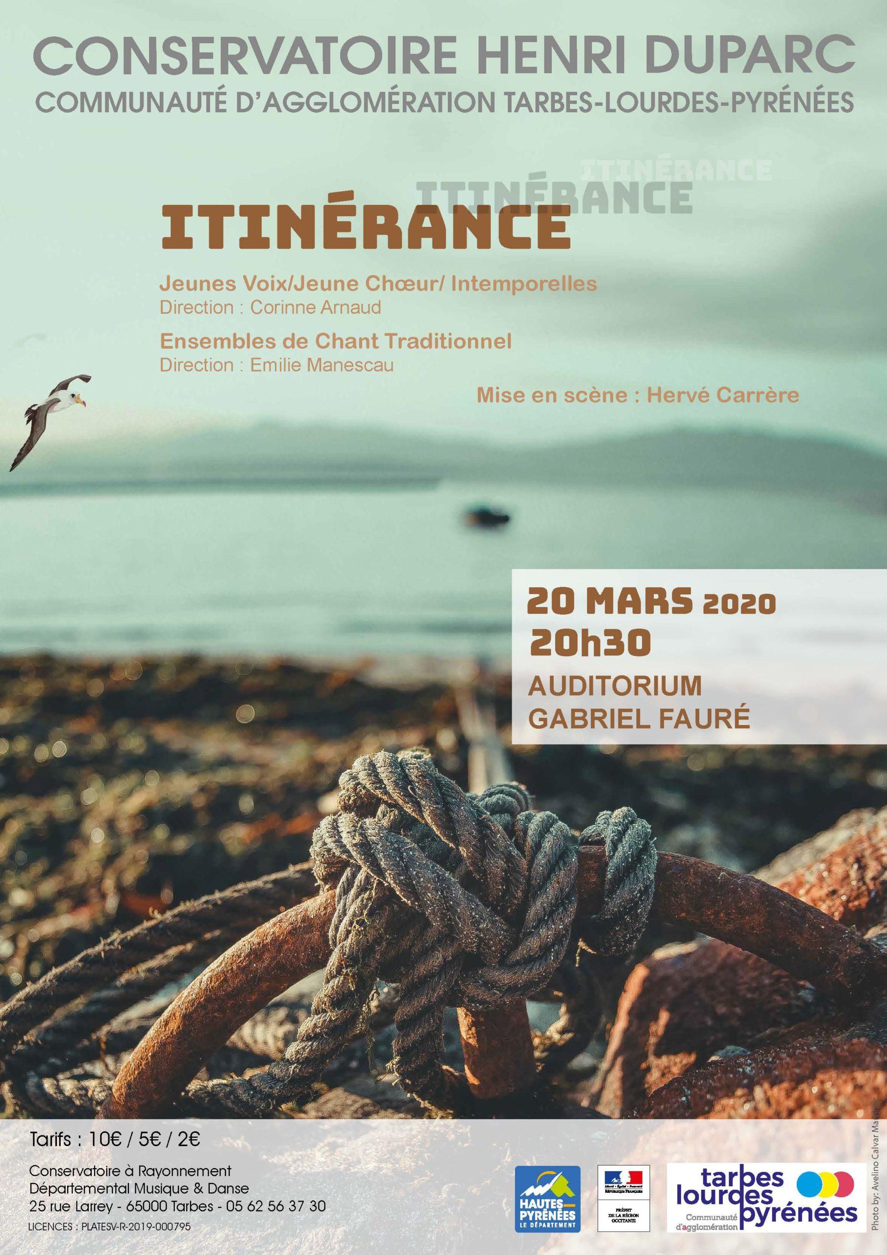"ÉVÉNEMENT ANNULÉ : ""Itinérance"""