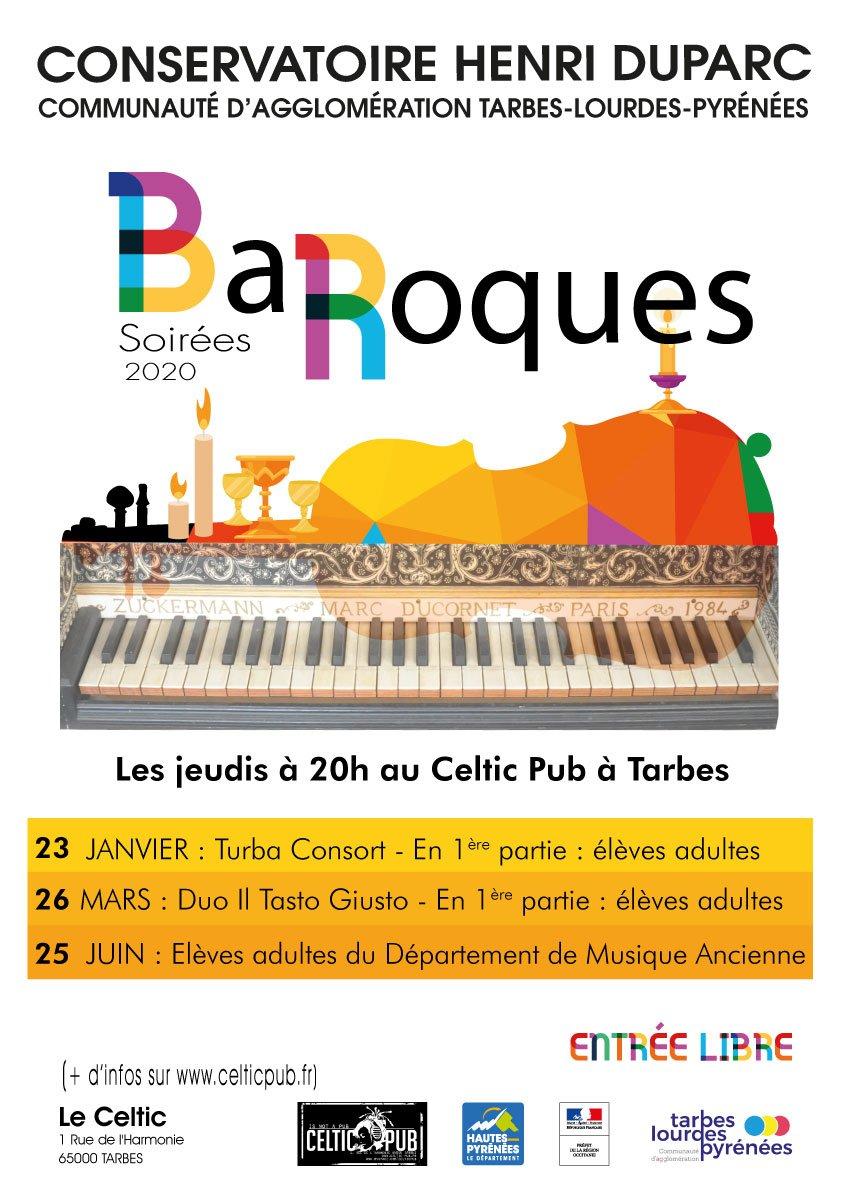 """ÉVÉNEMENT ANNULÉ : Les Soirées """"Baroques"""""""