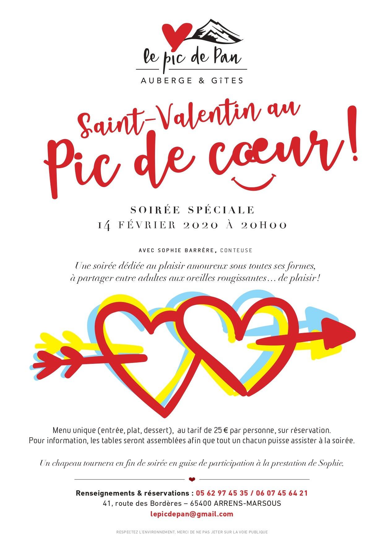 Contes Saint-Valentin Sophie BARRERE