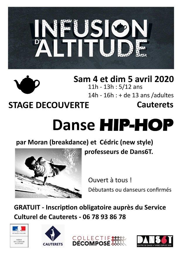 Stage découverte Hip-Hop