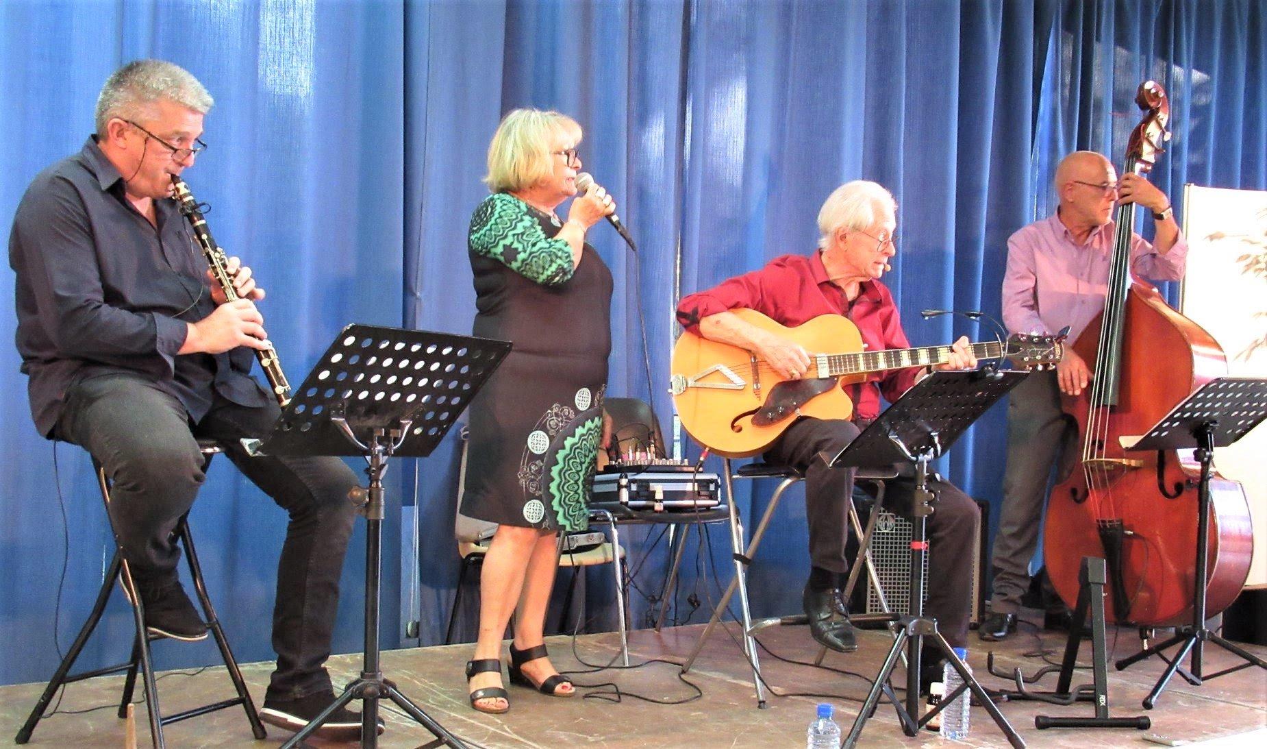 Concert : Swing Melodies chante Aznavour