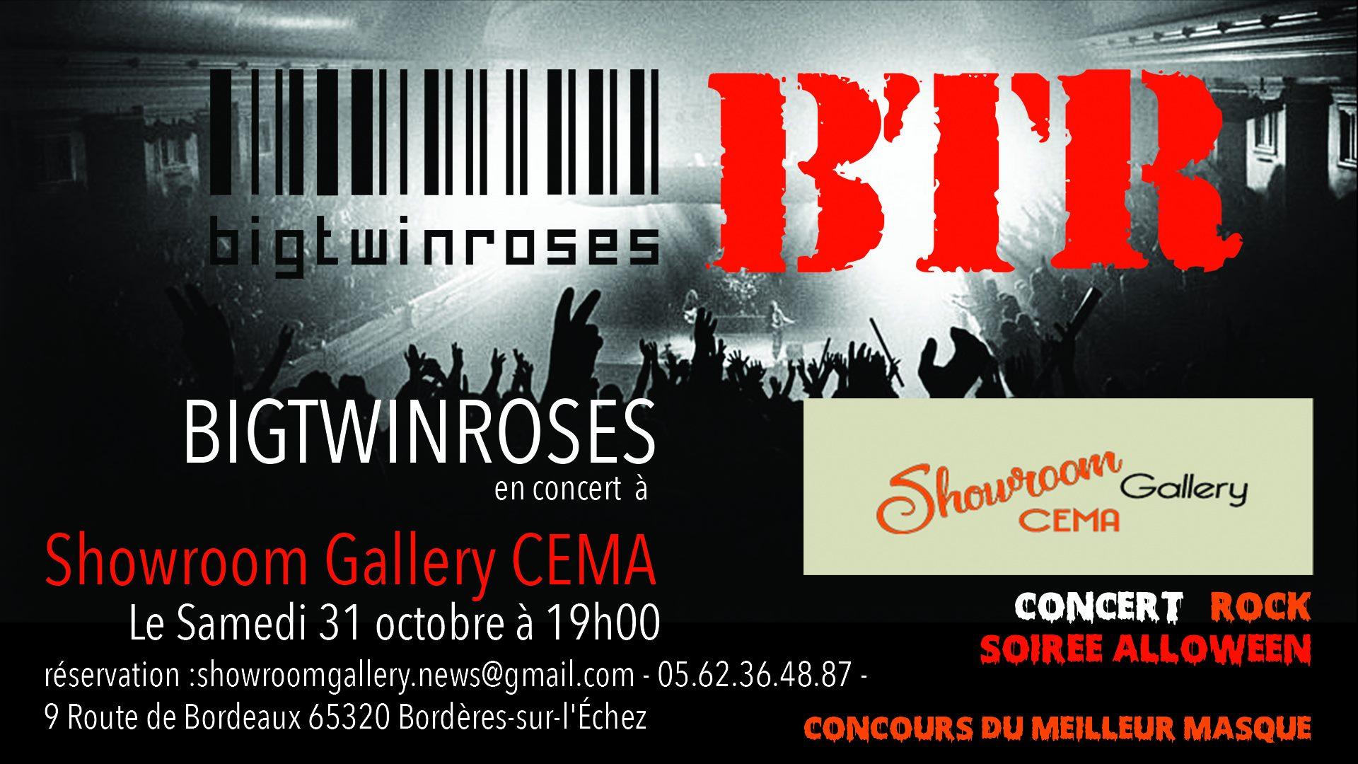 Concert B.T.R BigTwinRoses // Soirée Halloween