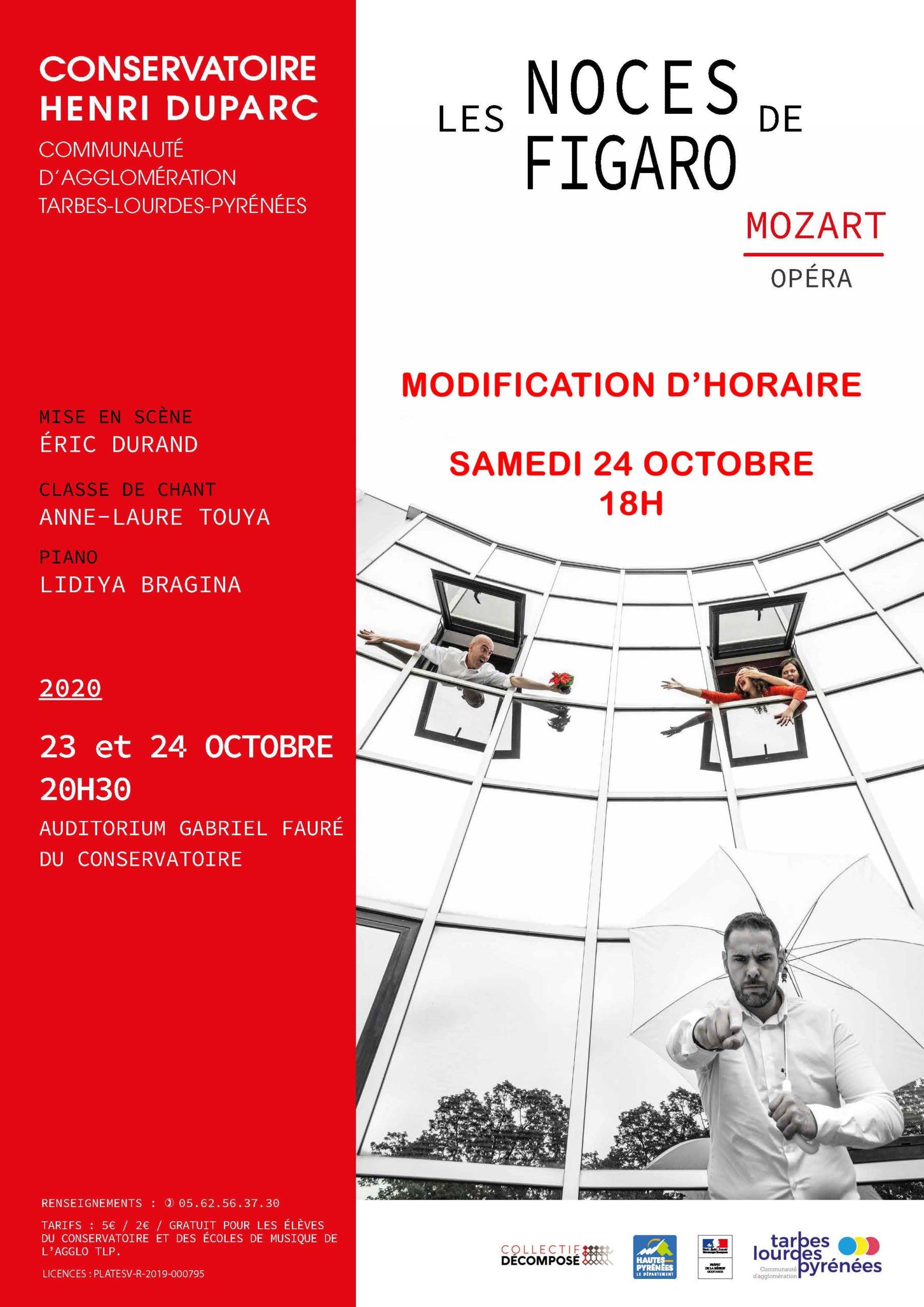 """Les Noces de Figaro"", opéra de W.A. Mozart"