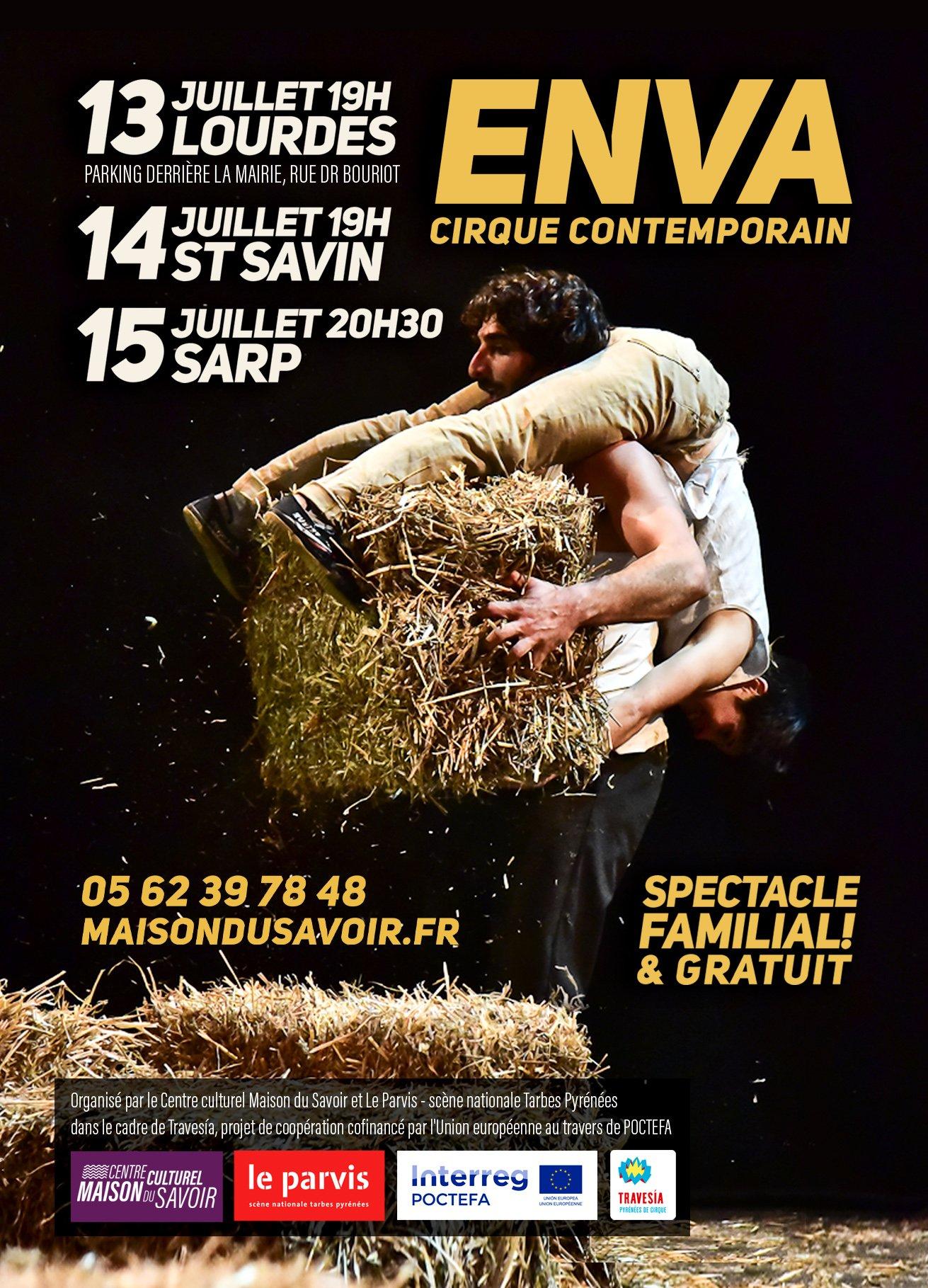 Cirque Contemporain ENVA   Amer y Africa