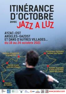 itinérance d'octobre avec jazz à luz